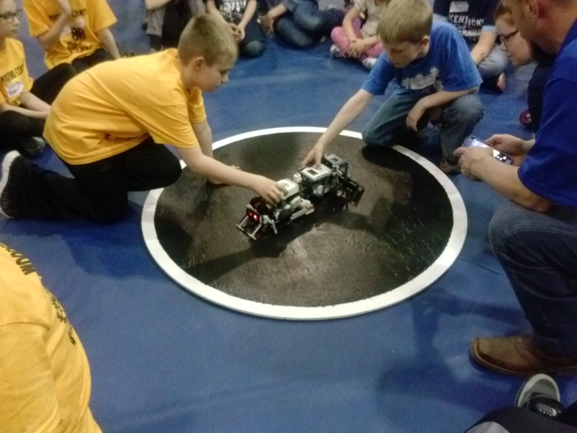 Figure 7 - The Sumobot Challenge had the Greatest Crowd Enthusiasm
